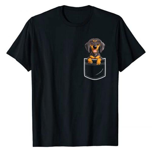 Dachshund DU Clothing Graphic Tshirt 1 Dachshund in Your Front Pocket T Shirt Dog Puppy Gifts Women