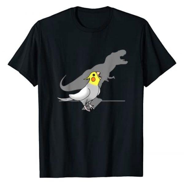 FandomizedRose Graphic Tshirt 1 Cute Screaming Parrot Birb Memes Funny T-Rex Cockatiel T-Shirt