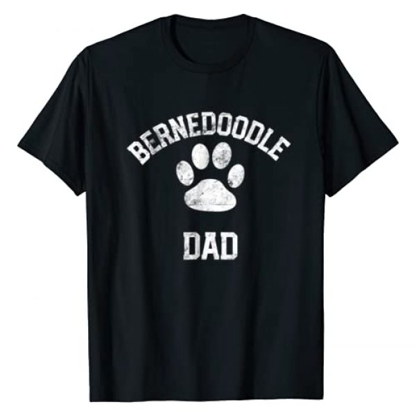 Bernedoodle TShirts For All Graphic Tshirt 1 Bernedoodle Dad Shirt Distressed Vintage Look