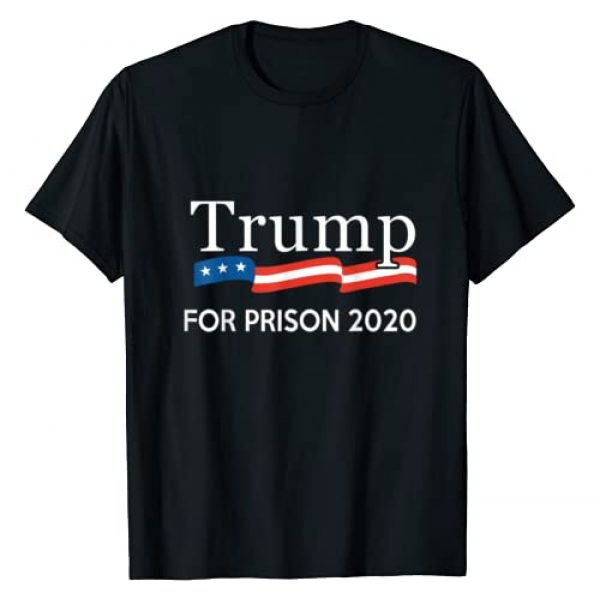 Progressive Outfitters Graphic Tshirt 1 Trump for Prison 2020 T-Shirt