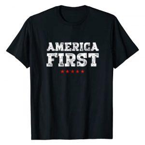 Trump P45 Apparel Graphic Tshirt 1 America First Pro-Trump T-Shirt Men Women