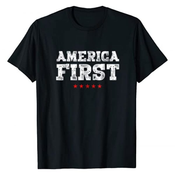 Trump P45 Apparel Graphic Tshirt 1 America First Pro-Trump T-Shirt Men Women