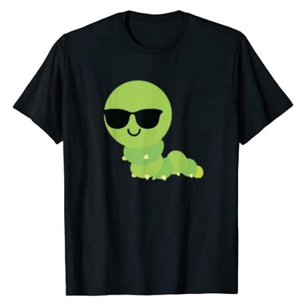 Caterpillar Graphic Tshirt 1 Sunglasses Shirt T-Shirt Insect Bug Tee