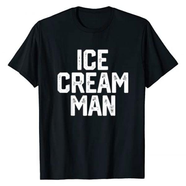 The Ice Cream Man T Shirt Co. Graphic Tshirt 1 ICE CREAM MAN T-Shirt Party Father's Day Gift Novelty Shirt T-Shirt