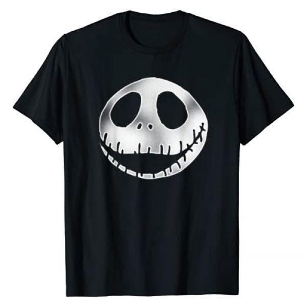 Disney Graphic Tshirt 1 Nightmare Before Christmas Big Jack Head T Shirt