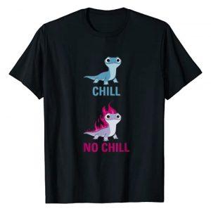 Disney Graphic Tshirt 1 Frozen 2 Salamander Chill vs No Chill T-Shirt