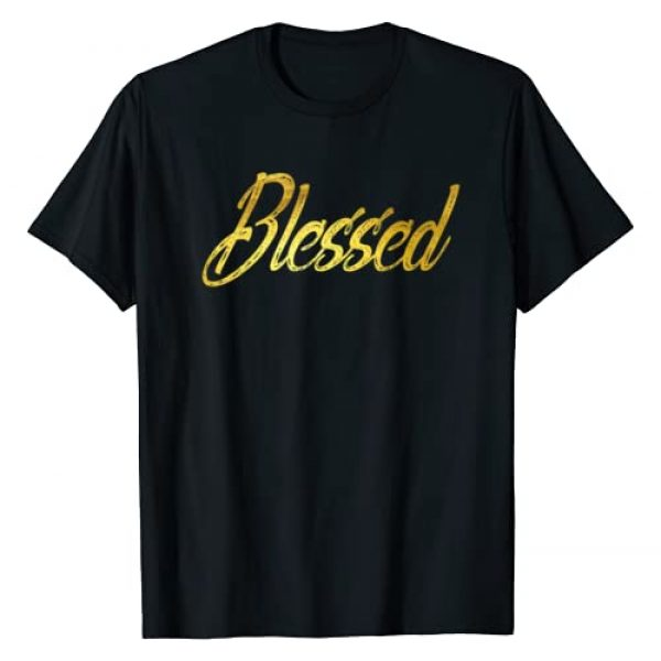 Gift Squad Graphic Tshirt 1 Blessed Gold T-shirt