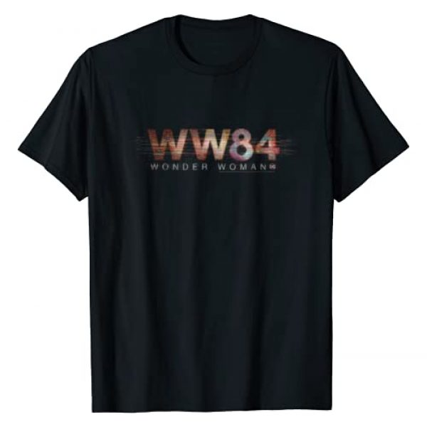 DC Comics Graphic Tshirt 1 Wonder Woman 84 Logo T-Shirt
