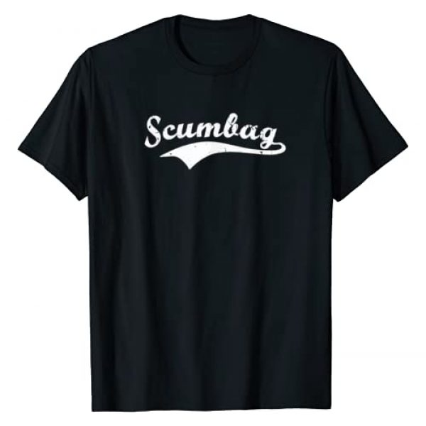 Shirts for Scumbags Graphic Tshirt 1 Scumbag shirt. Retro vintage Scum bag swoosh tee T-Shirt