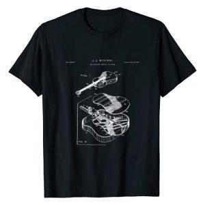 Patent Shirts Graphic Tshirt 1 Martin Guitar Patent t-shirt - music t-shirt