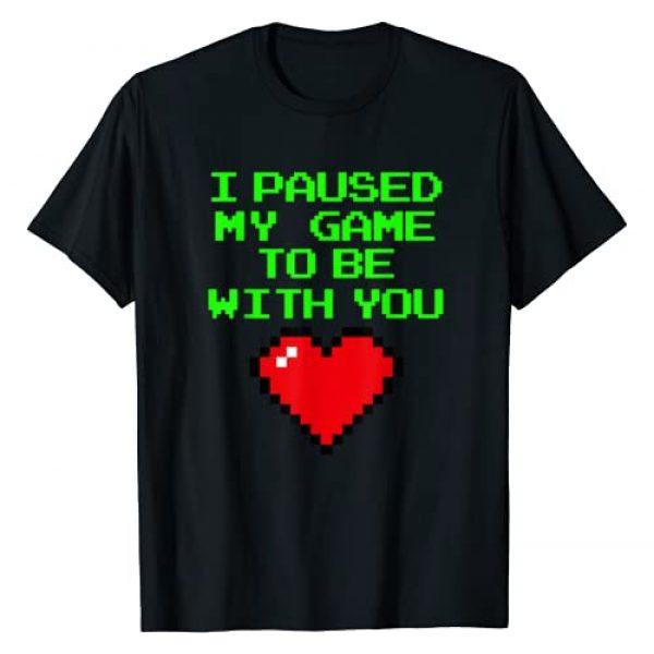 Valentines Day Shirt by Crush Retro Graphic Tshirt 1 Video Gaming Gamer Valentines Day T Shirts for Boys Men