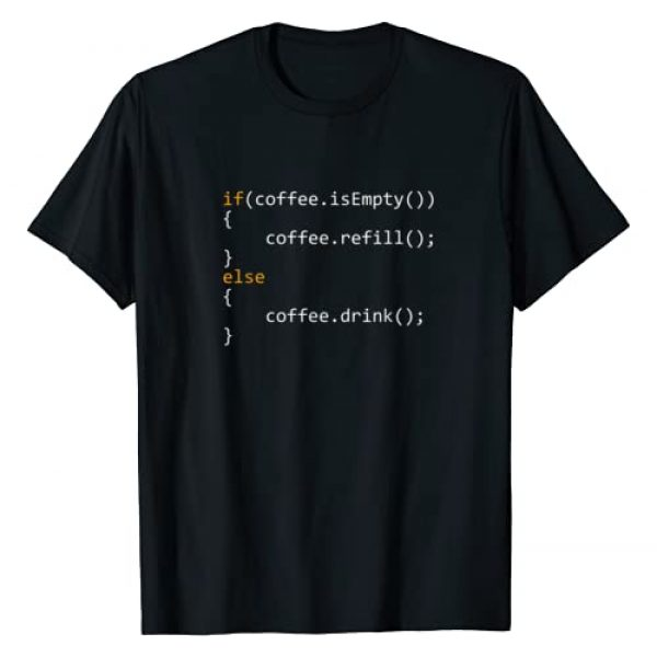 Programmer Coding And Hacker Tees Graphic Tshirt 1 Funny Programmer Coffee Gift For Coders T-Shirt