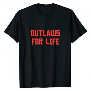 Redemptions Of The West Graphic Tshirt 1 Outlaws For Life T-Shirt