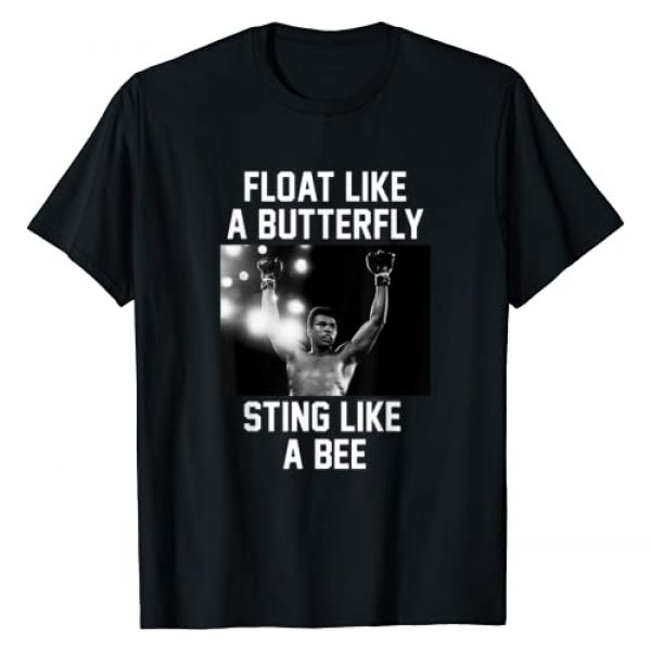 Muhammad Ali Graphic Tshirt 1 Float like a Butterfly T-shirt