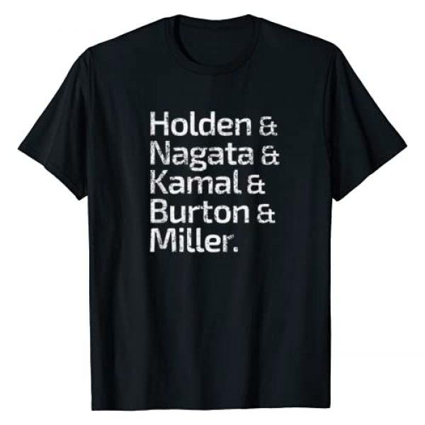 The Expanse Graphic Tshirt 1 Roll Call T-Shirt