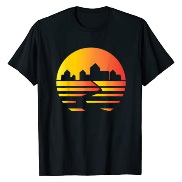 Meeple Design Graphic Tshirt 1 City Skyline Catan T-Shirt - Board Game - Tabletop Gaming T-Shirt