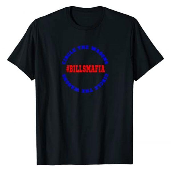 Lauren Elin Designs Graphic Tshirt 1 Circle the Wagons Bills Mafia T-Shirt