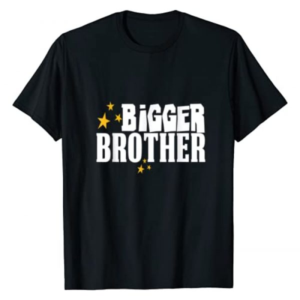 Brother Tees NYC Graphic Tshirt 1 Bigger Brother T-Shirt Matching Kids Boys Son Family Tribe