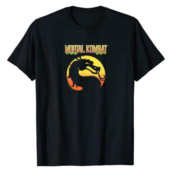 Mortal Kombat Graphic Tshirt 1 Klassic Logo T-Shirt