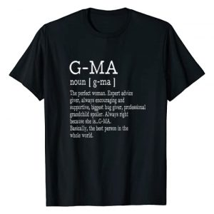 Family Tee Shirts For Men Women Graphic Tshirt 1 G-Ma Definition Grandma Mother Day Gifts Women T-Shirt
