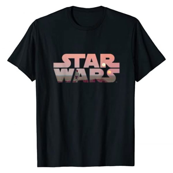 Star Wars Graphic Tshirt 1 Logo Luke Skywalker Tatooine T-Shirt
