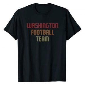 Washington Football Team Graphic Tshirt 1 Retro | Hail to Washington Football T-Shirt