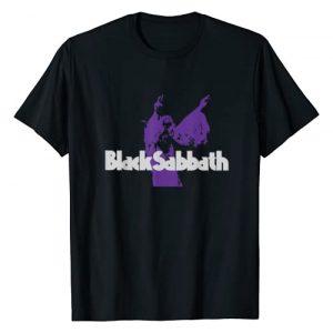 Black Sabbath Graphic Tshirt 1 Official Purple Ozzy T-Shirt T-Shirt