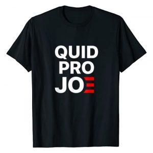 Anti Joe Biden for President 2020 Graphic Tshirt 1 Quid Pro Joe Anti Joe Biden 2020 Funny Parody T-Shirt