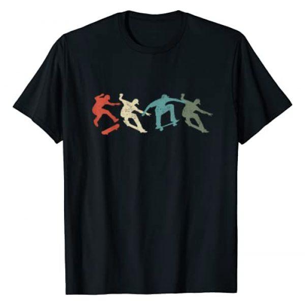 Skateboarding Graphic Tshirt 1 Skateboard Skateboarding Retro Gift for Skateboarders T-Shirt