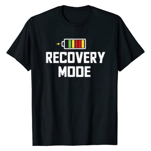 Post Surgery Get Well Soon Recovery Gifts Graphic Tshirt 1 Recovery Mode Get Well Funny Post Injury Surgery Rehab Gift T-Shirt