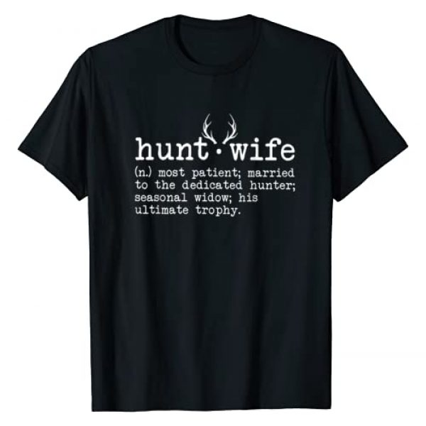 Funny Hunt Wife Definition Tee Shirt Graphic Tshirt 1 Hunt Wife Definition Funny Hunting T-Shirt