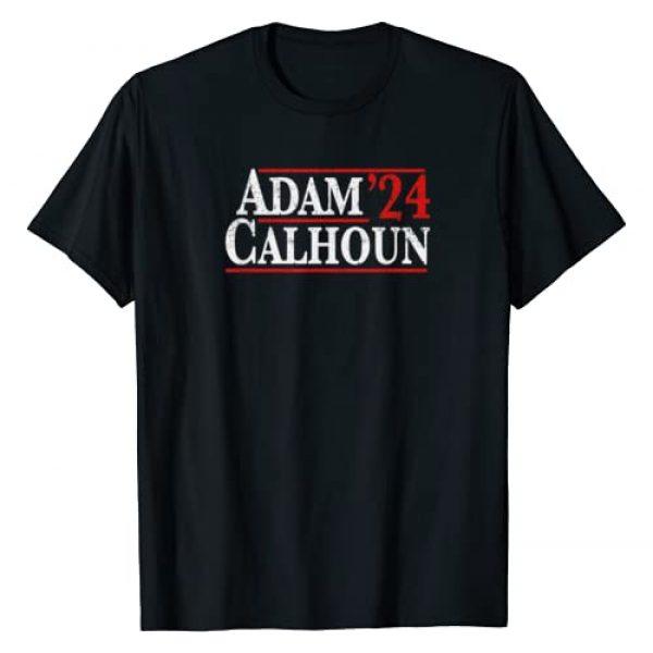 Republican Raised Right Graphic Tshirt 1 Adam Calhoun 2024 Vintage Distressed Campaign T-Shirt