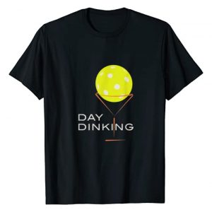 Whyitsme Design Graphic Tshirt 1 Funny Pickleball Day Dinking Martini Art, Pickleball Gifts T-Shirt