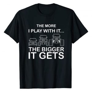 Funny Off Road The More I Play With It Gift Art Graphic Tshirt 1 Cool The More I Play With It...The Bigger It Gets Men Women T-Shirt