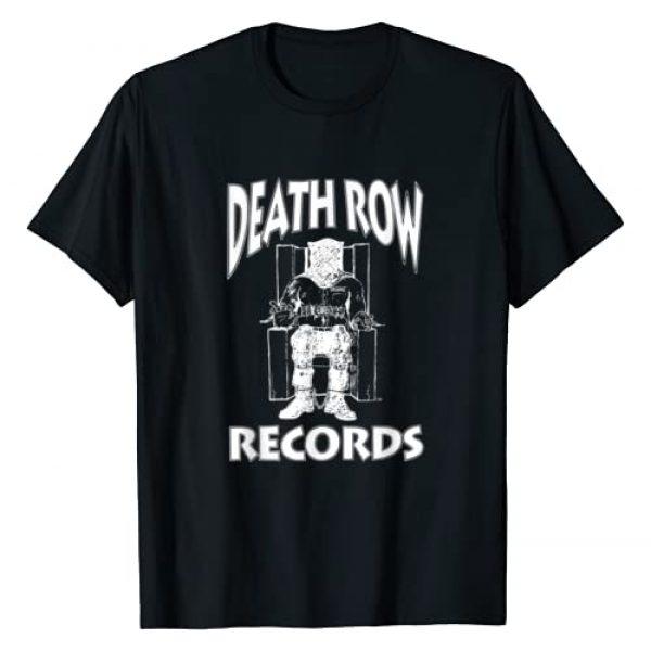 Death Row Records Graphic Tshirt 1 White Logo T-Shirt