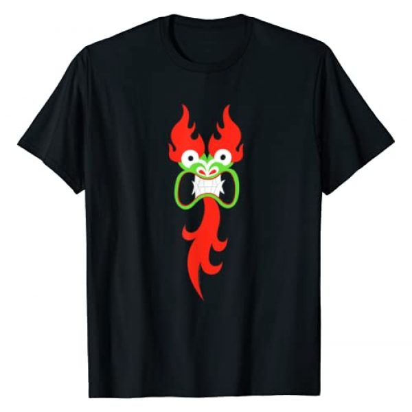 Adult Swim Graphic Tshirt 1 Samurai Jack Aku Face T-Shirt