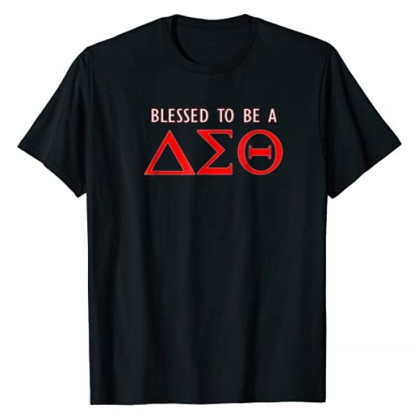 Delta Diva T-shirts Graphic Tshirt 1 Blessed to be a Sigma Diva Theta T-Shirt Delta