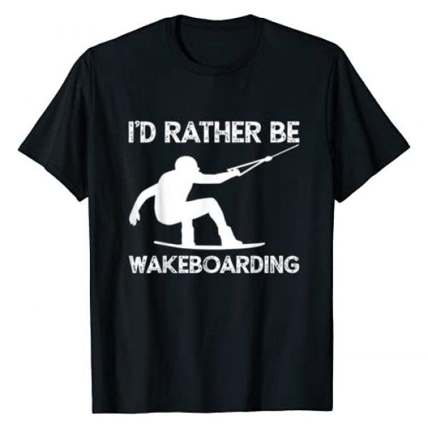 Wakeboard or XXXXXX Graphic Tshirt 1 Wakeboarding Wakeboarder Wakeboard T-Shirt