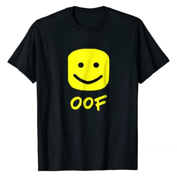 Oof Gaming Apparel Graphic Tshirt 1 Funny Oof Blox Meme not for Noobs T-Shirt