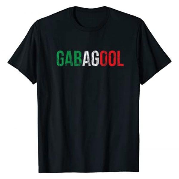 Italian Quotes & Sayings Slang Apparel Graphic Tshirt 1 Gabagool Capicola Meat New Jersey Italian Pride Gift T-Shirt