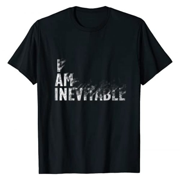 Assemble Fun Tees Graphic Tshirt 1 Men Women I Am Inevitable Vintage T-Shirt for Kids