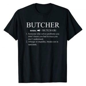 Baker Loves Shirt Gift Graphic Tshirt 1 Funny Noun Butcher Definition T-Shirt Butchery Gift Love