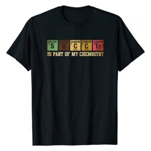 TapTee Cool Graphic Tshirt 1 Is Part Of My Chemistry T-Shirt Funny Science Soccer Student T-Shirt