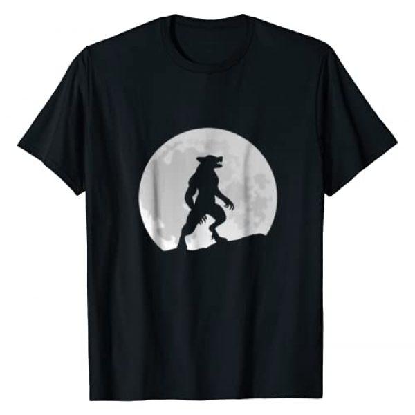 WereWolf Moon T-shirt Graphic Tshirt 1 Werewolf Wolf Moon T-shirt