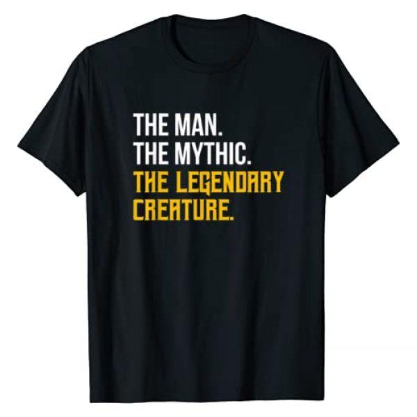 TCG Tabletop Clothing Co. Graphic Tshirt 1 Mens Magic Man Mythic Legendary Creature - TCG Trading Card Gift T-Shirt