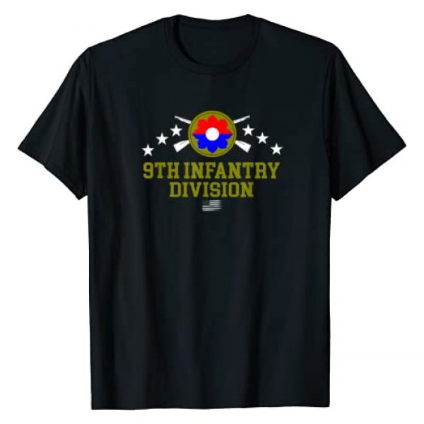 Army Infantry Tees For All Graphic Tshirt 1 9th Infantry Division T-Shirt
