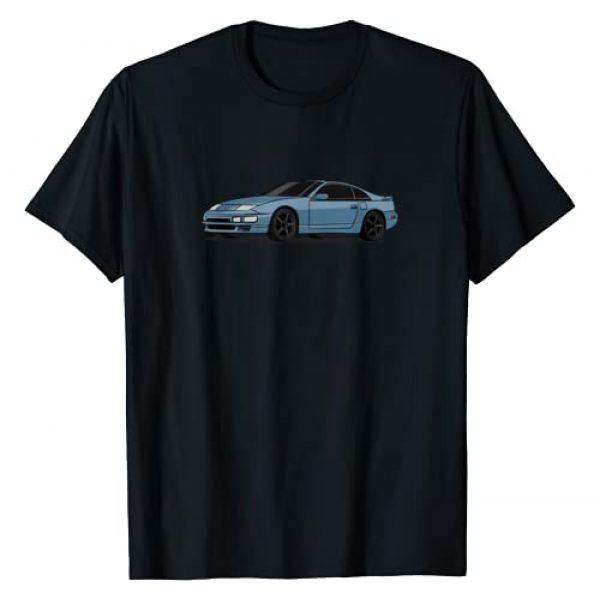 Pshhh Graphic Tshirt 1 Fairlady Z 300zx Z32 Sapphire Blue Graphic T-Shirt