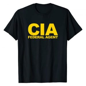 Official Federal Agent Apparel Graphic Tshirt 1 CIA Federal Agent T-Shirt