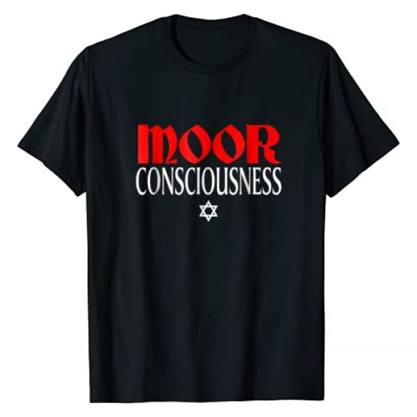 Moor T Shirt Shop Graphic Tshirt 1 Moor Consciousness Moorish American T Shirt