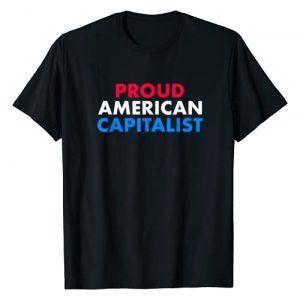 Proud Capitalist Gift Designs Graphic Tshirt 1 Proud American Capitalist Pro Capitalism Gift Idea T-Shirt